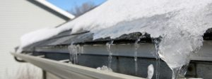 Example of Roof and Ice Dams