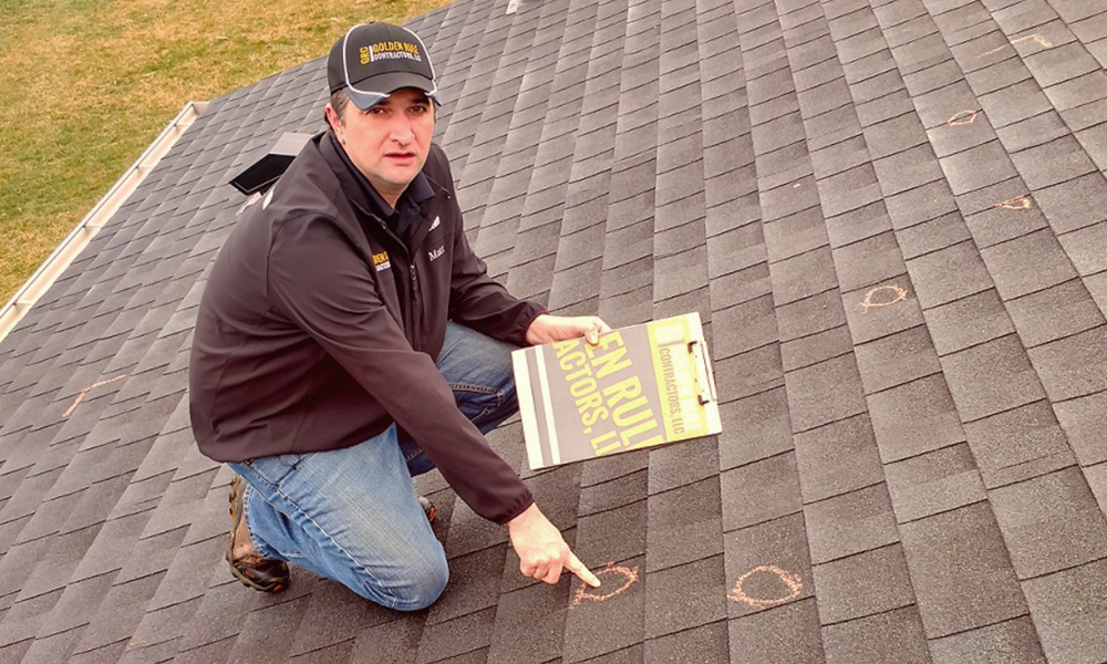 Does your roof have hail damage? Learn what to look for.